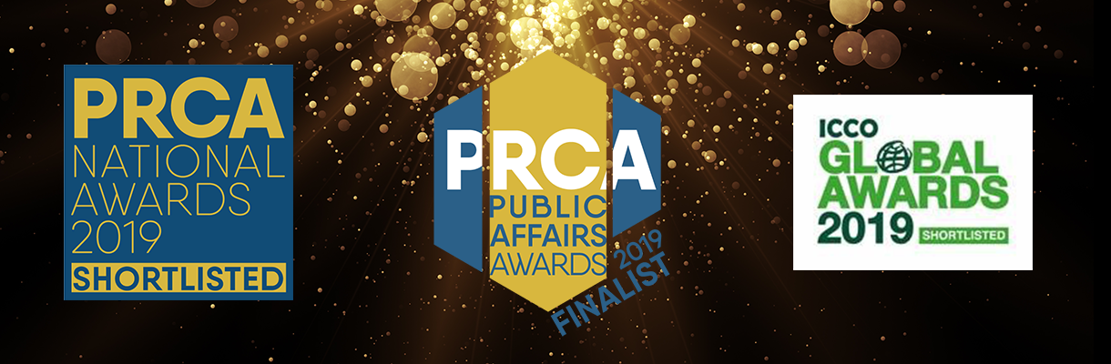 BECG Shortlisted for Three PR Industry Awards