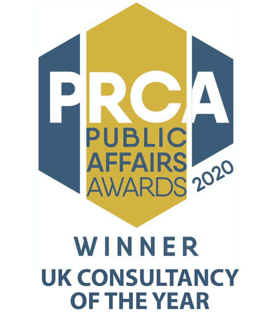 PRCA Public Affairs Consultancy of the Year 2020