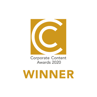 Corporate Content Awards 2020 Winner