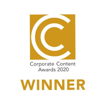 Corporate Content Awards 2020 Winner