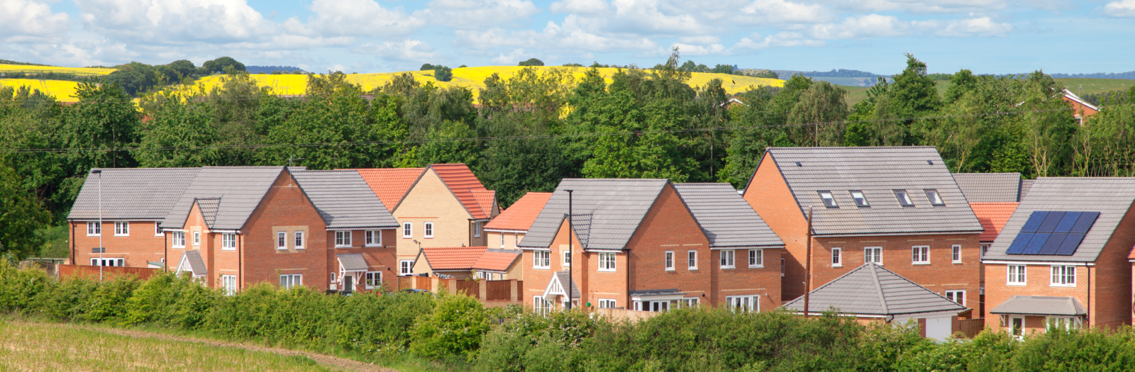 New Houses in England