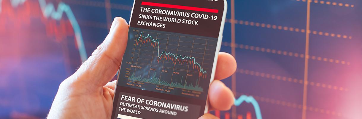 The coronavirus panics the world of business